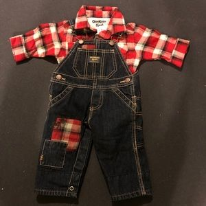 Baby coveralls & long sleeve